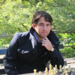 A Chess Player in Central Park