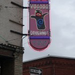 VooDoo Donuts sign Portland Oregon