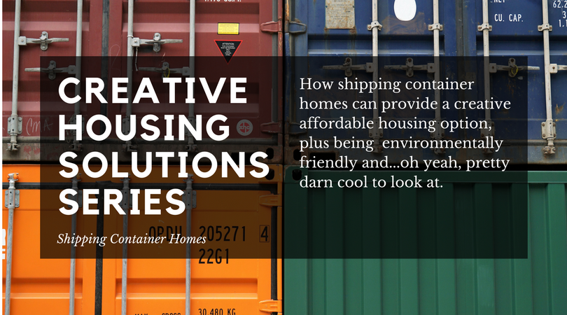 Creative Housing Series - Shipping Container Homes (1)
